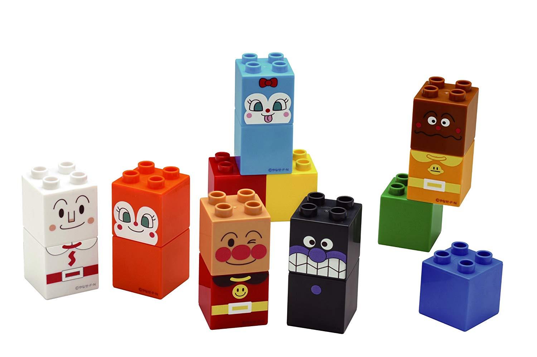 ファーストブロックシリーズ ブロックラボ アンパンマン アンパンマンとおともだちブロックセット