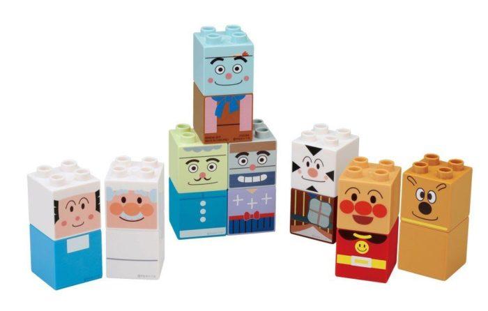 ファーストブロックシリーズ ブロックラボ アンパンマン アンパンマンとなかまたちブロックセット