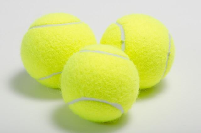 陣痛のお供テニスボール